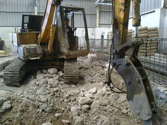 Tháo dỡ công trình nhà xưởng