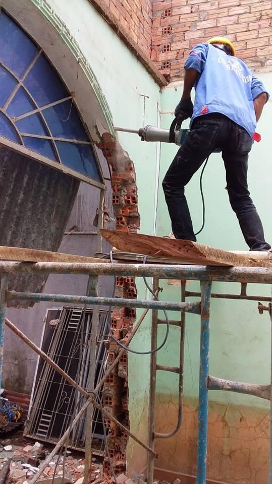 Tháo dỡ công trình nhà ở